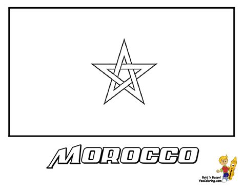 Morocco Coloring Pages flag of philippines coloring sheet coloring pages
