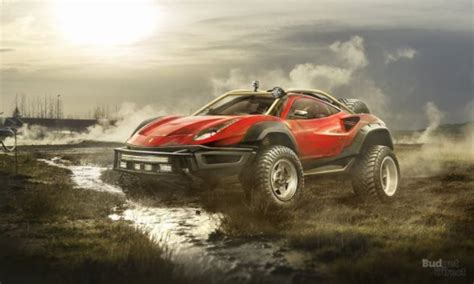 ferrari off road 7 supercars transformed into extreme off roaders car