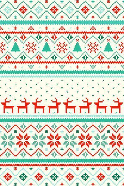 christmas pattern desktop sweater pattern wallpaper holiday wallpaper pinterest