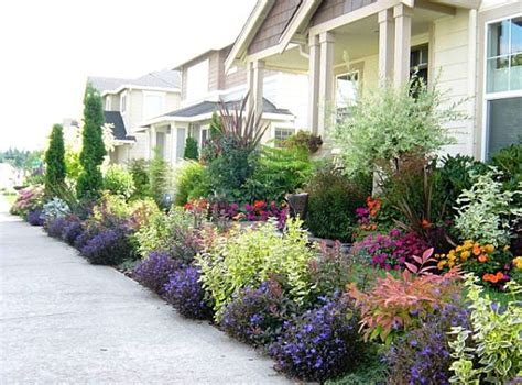 Front Yard Landscape Ideas That Make An Impression Plants For Front Garden Ideas
