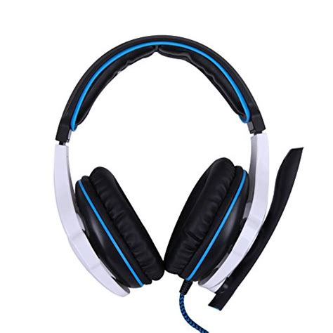 Murah Earcup Sades 903 Blue sades 7 1 surround sound pro usb pc stereo noise canceling gaming headset with high sensitivity