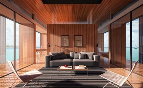 floating home interiors for west coast living sustainable floating house concept delivers magic on water