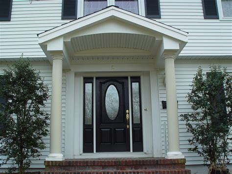 front entrance design front entry portico remodeling projects in new jersey
