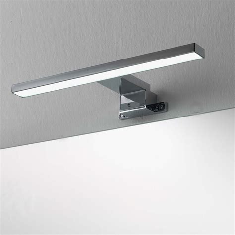 illuminazione specchio bagno led lada a led per specchio da bagno cm 30 cromata per