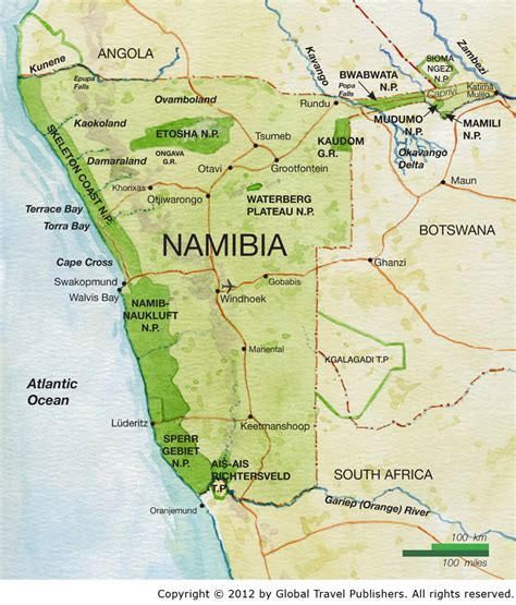 africa map namibia 12 day wings namibia best safari