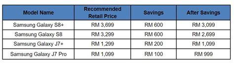 Harga Samsung J7 Pro Februari 2018 samsung menawarkan potongan harga sehingga rm 600 untuk