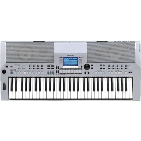 Keyboard Yamaha Psr S550 Bekas yamaha psr s550 keyboard in silver at gear4music
