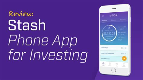 App Review Review Stash Phone App For Investing