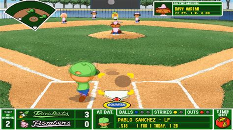 online backyard baseball let s play backyard baseball part 19 it s going going