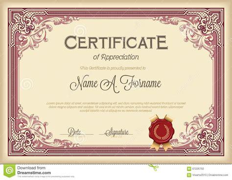 godparent certificate template best free home design