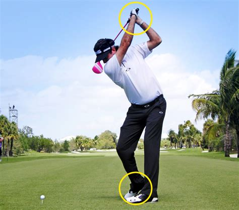 no hands golf swing bubba watson s power secrets today s golfer