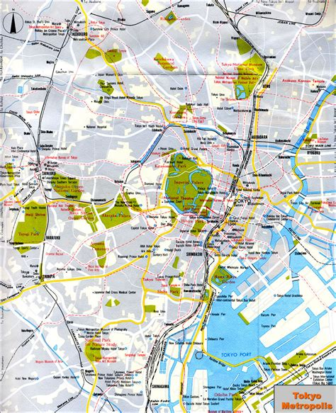 map of tokyo www mappi net maps of cities tokyo