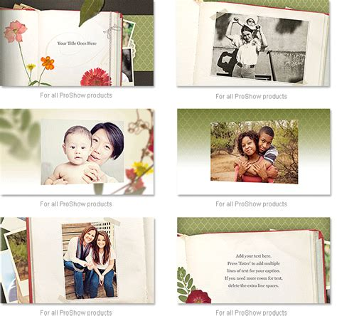 proshow gold themes download free mother s day slideshow effects for proshow