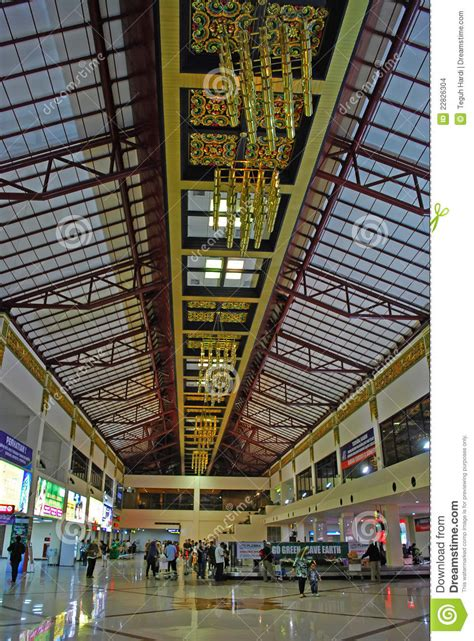 interior surabaya airport stock