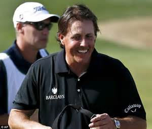 phil mickelson hair thinning phil mickelson on the last hole of his opening round