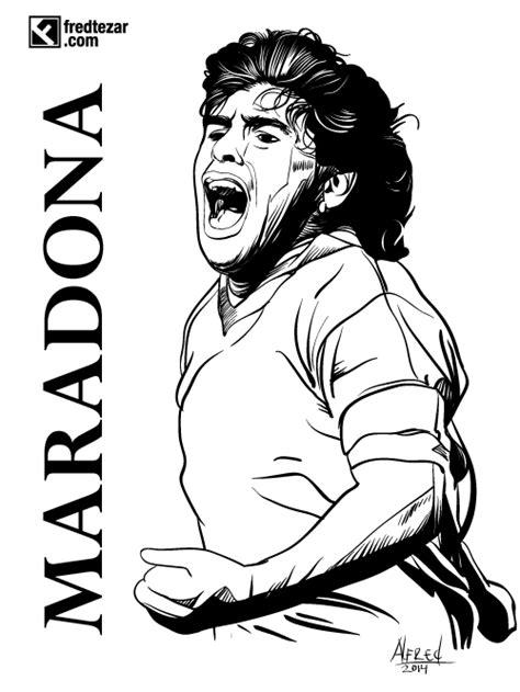 Maradona, football player, | Dibujos, Dibujos de harry