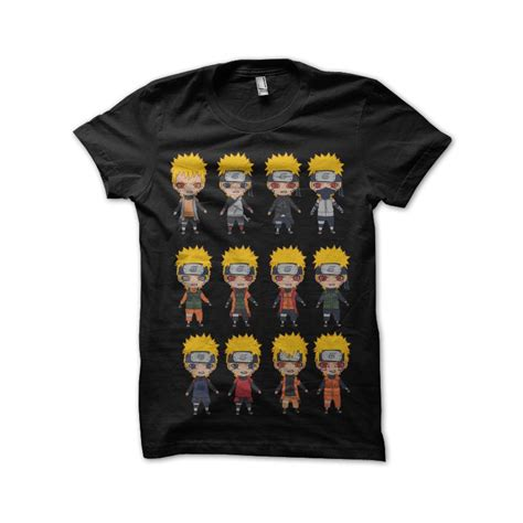 T Shirt Konoha black t shirt konoha