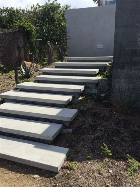 outside steps floating stairs 187 sage outdoor designs pinteres