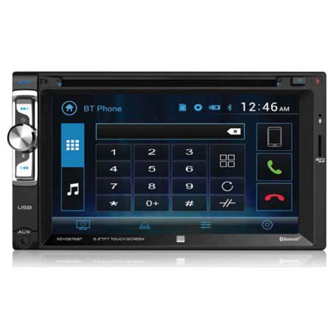 dual electronics multimedia touch screen double din car