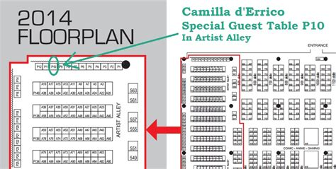 fan expo floor plan camilla returns to fan expo torontocamilla d errico camilla d errico