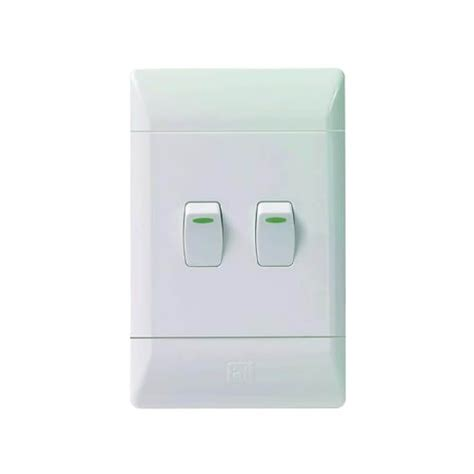 2 lever light switch