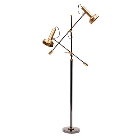 Ultra Modern Kitchen Design by Modern Triennale Floor Lamp Milano In Brass Stardust