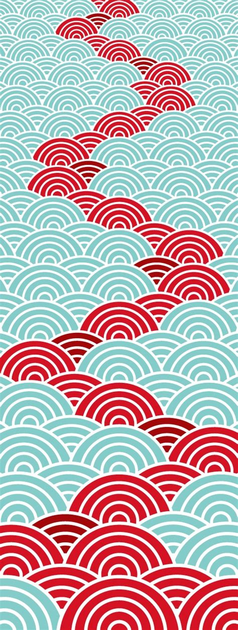 japanese graphic design pattern japanese seamless wave pattern graphic design