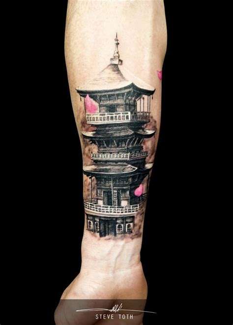 pagoda tattoo 17 best images about s on