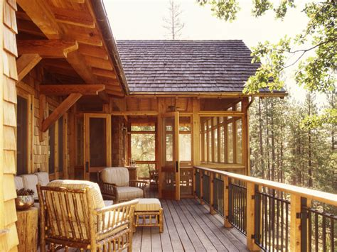 family ranch rustic deck san francisco by tucker