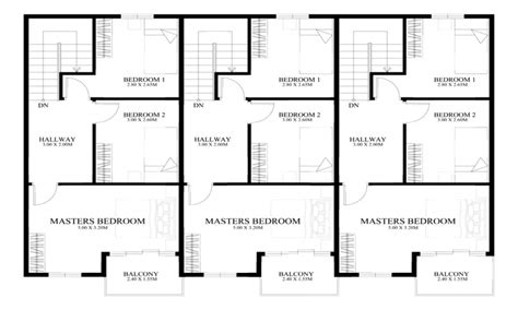 3 Story Townhouse Plans by Townhouse Floor Plan Designs 3 Story Townhouse Floor Plans