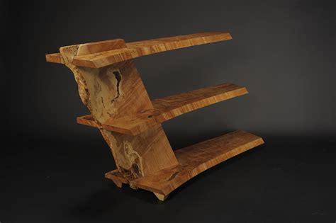 Wood Handcraft - suspense 25 architectural 3 tiered display shelf