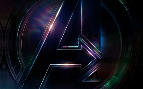 marvel wallpaper for macbook be49 avengers logo dark film art illustration marvel wallpaper