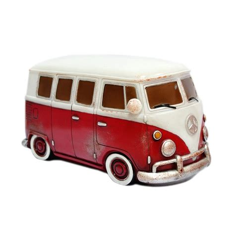 Black And White Bathroom Ideas Pictures retro vw kombi table lamp red