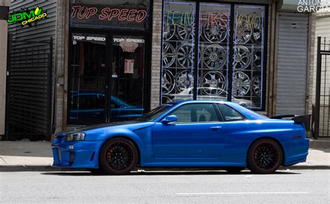 nissan skyline r34 modified jdm chicago feature joey feng s 1999 r34 skyline gt r