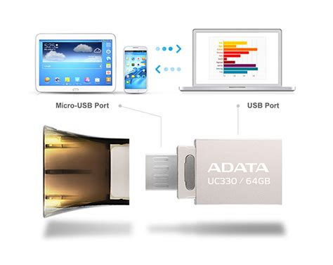 Xturf Otg Flash Drive Disk 32gb Storage Untuk Iphone jual adata choice usb otg flash drive 32gb uc330 32gb harga murah usb flash disk dual drive