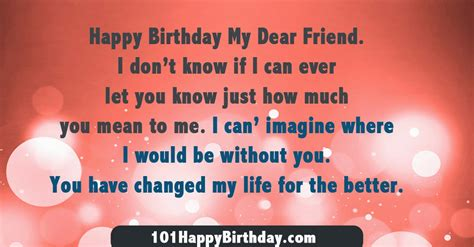 Happy Birthday Dear Friend Quotes Dear Friend Birthday Quotes Quotesgram