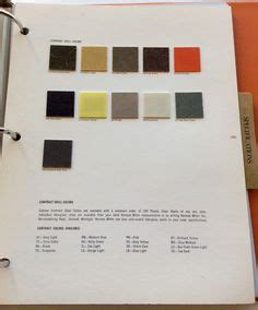 all the original colors for the herman miller eames chairs so much loveliness collage