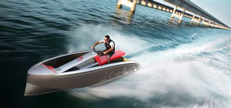 jet ski boat you have never seen something like this half jet ski half