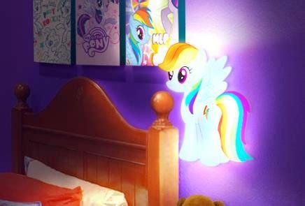rainbow dash room equestria daily mlp stuff rainbow dash quot room a light quot and mini dress figures on tech 4