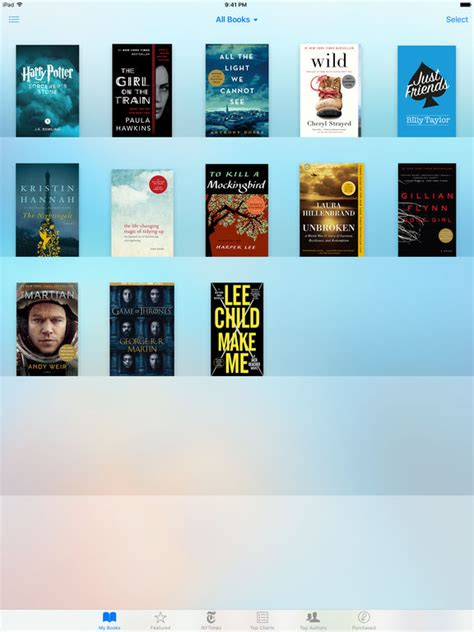 what ebook format does iphone use ibooks on the app store