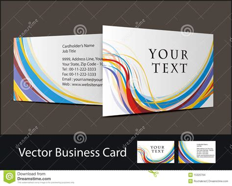 business cards and sts business card set stock images image 15320794
