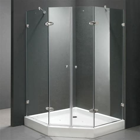 Neo Angle Shower Door Seal with Vigo 42 Quot X 42 Quot Neo Angle Shower Door Side Clear Seals Keep The Door Watertight