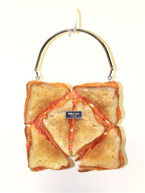 The Moschino Muffin Bag by Designer Handbags Made With Breads Pancakes And Waffles