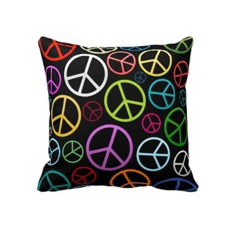 Peace Sign Pillows by 48 Best Room Decor Images On
