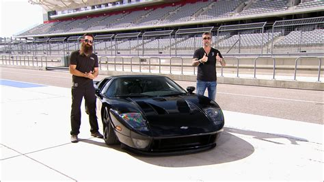 Fast N Loud Ford Gt epic ford gt reveal fast n loud 2015 10 13 21 10