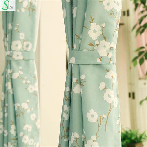 Dan Korean Small Fresh Finished Blackout Curtain Fabric Living Room Upscale Thick Curtains Shade soul korea garden curtain cloth small fresh kapok