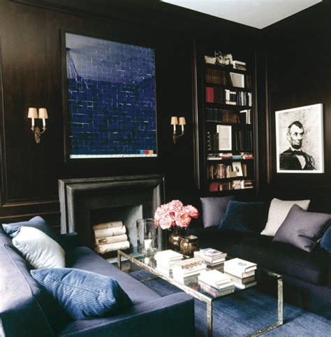 Blue And Black Room by Bossy Color S Design Goals For 2014 Bossy Color