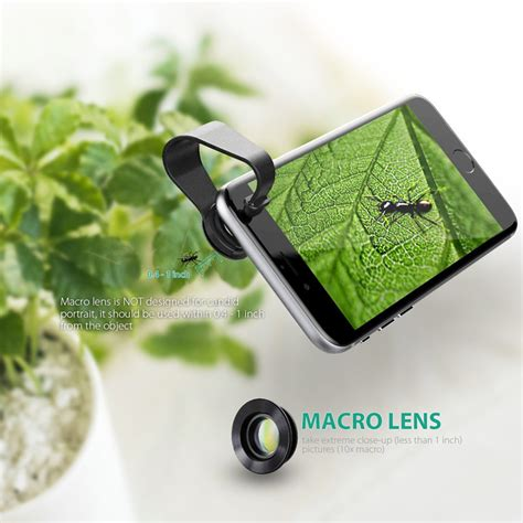 Lensa Fisheye Lensa 3in1 Lensa Universal Clip Mini Lensa aukey lensa fisheye macro wide angle lens pl a1 black jakartanotebook