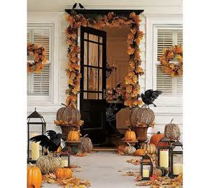 Fall Home Decorating Ideas by Fall Front Porch Decorating Ideas Shelterness