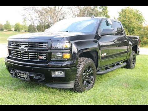 sold  chevrolet silverado  midnight edition ltz